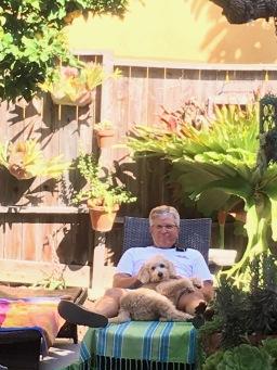 Notice large Staghorn Fern - My Grampa's!